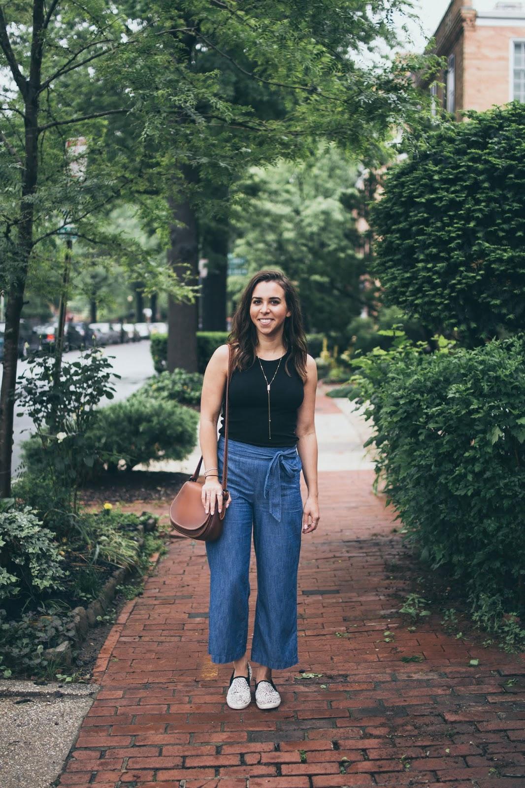 chambray-culottes-casual-style-dc-blogger-avizastyle-andrea-viza