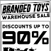 Branded Toys Warehouse Sale
