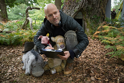 """On the set of """"Christopher Robin."""""""