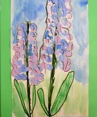 hyacinths finger-print