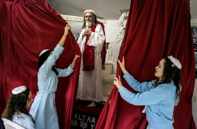 Hombre brasileño afirma que es Jesucristo reencarnado, tiene 12 discípulos