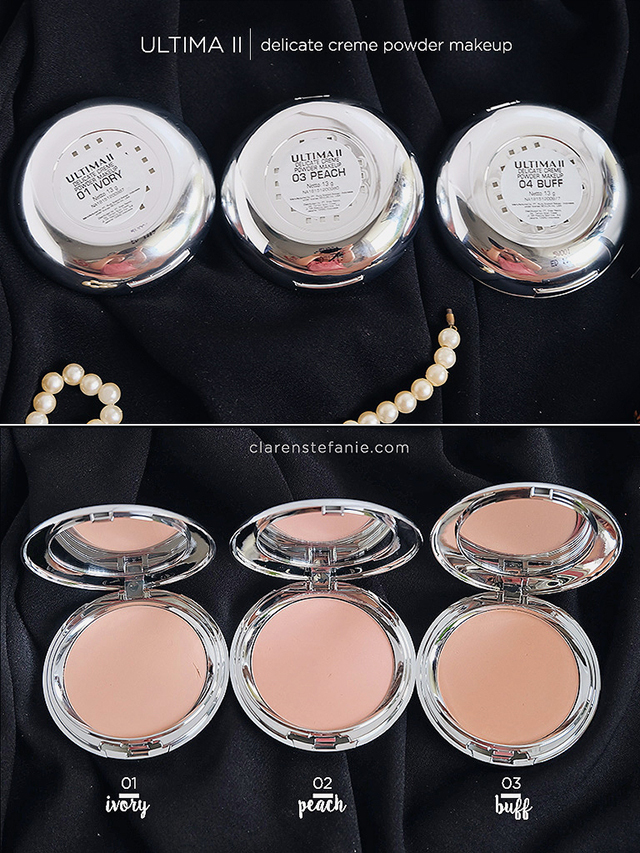 Review ULTIMA II Delicate Creme Make Up