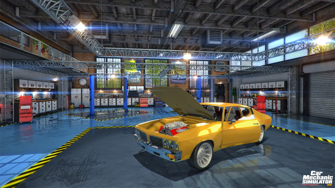 Car Mechanic Simulator 2015 [CODEX] Full Torrent İndir