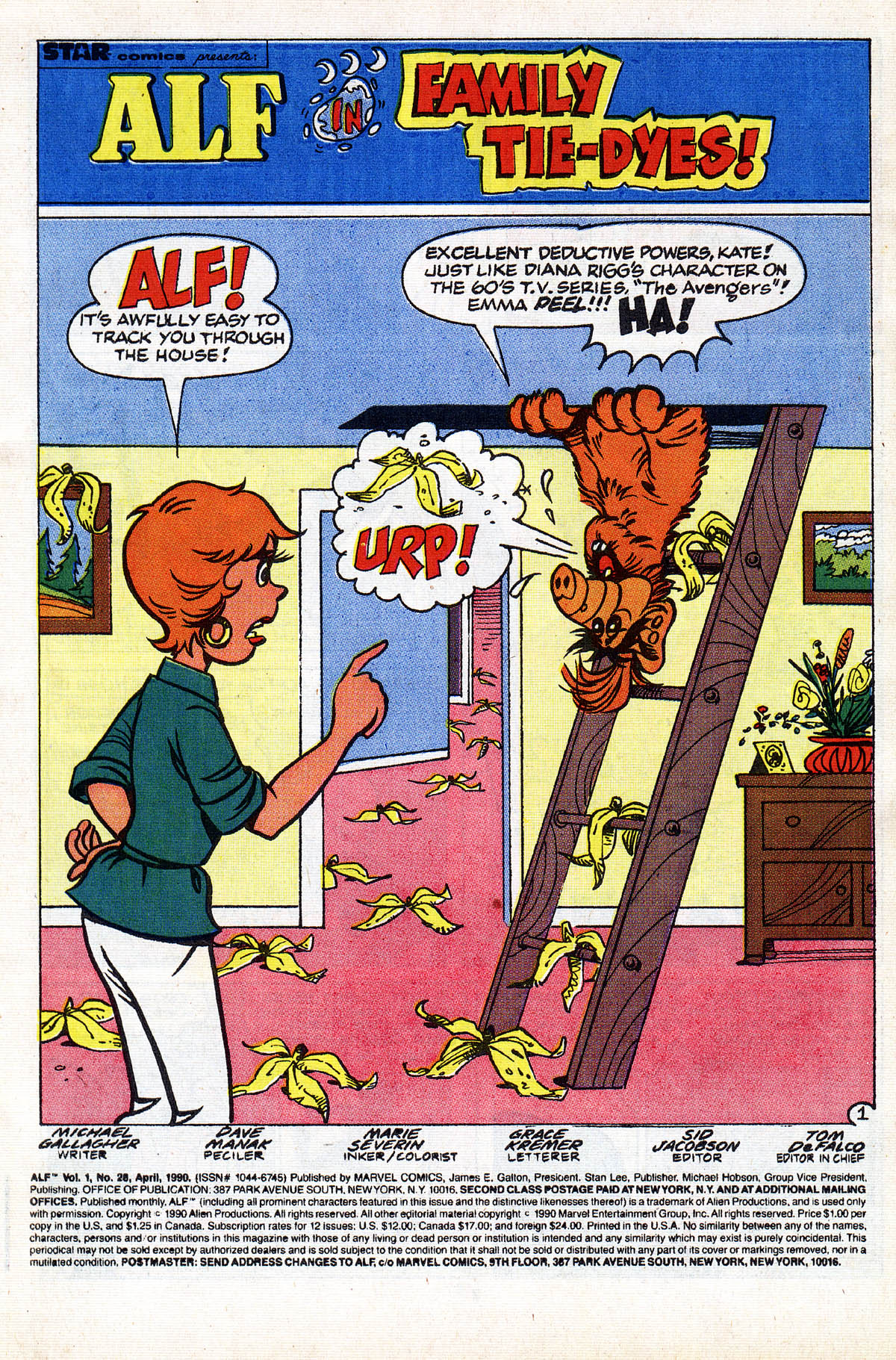 Read online ALF comic -  Issue #28 - 3