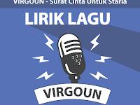 Lirik lagu Surat Cinta Untuk Starla - Virgoun