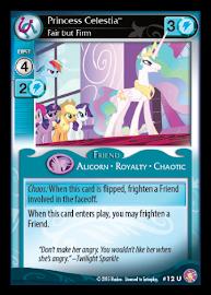 My Little Pony Princess Celestia, Fair but Firm Absolute Discord CCG Card