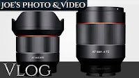 Samyang 14mm & 50mm FE Lens For Sony E Mount (8/18/2016) - Now With Auto Focus! | Vlog