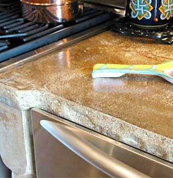 concrete kitchen countertops creative juice choosing the countertop that is right for you 29583