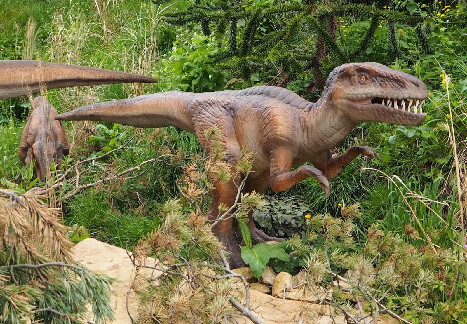 west midland safari park dinosaur