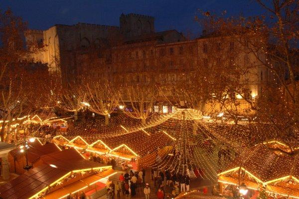Luzes de Natal em Marselha