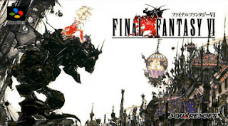 Arte gráfico de Final Fantasy VI para Super Famicom, 1994