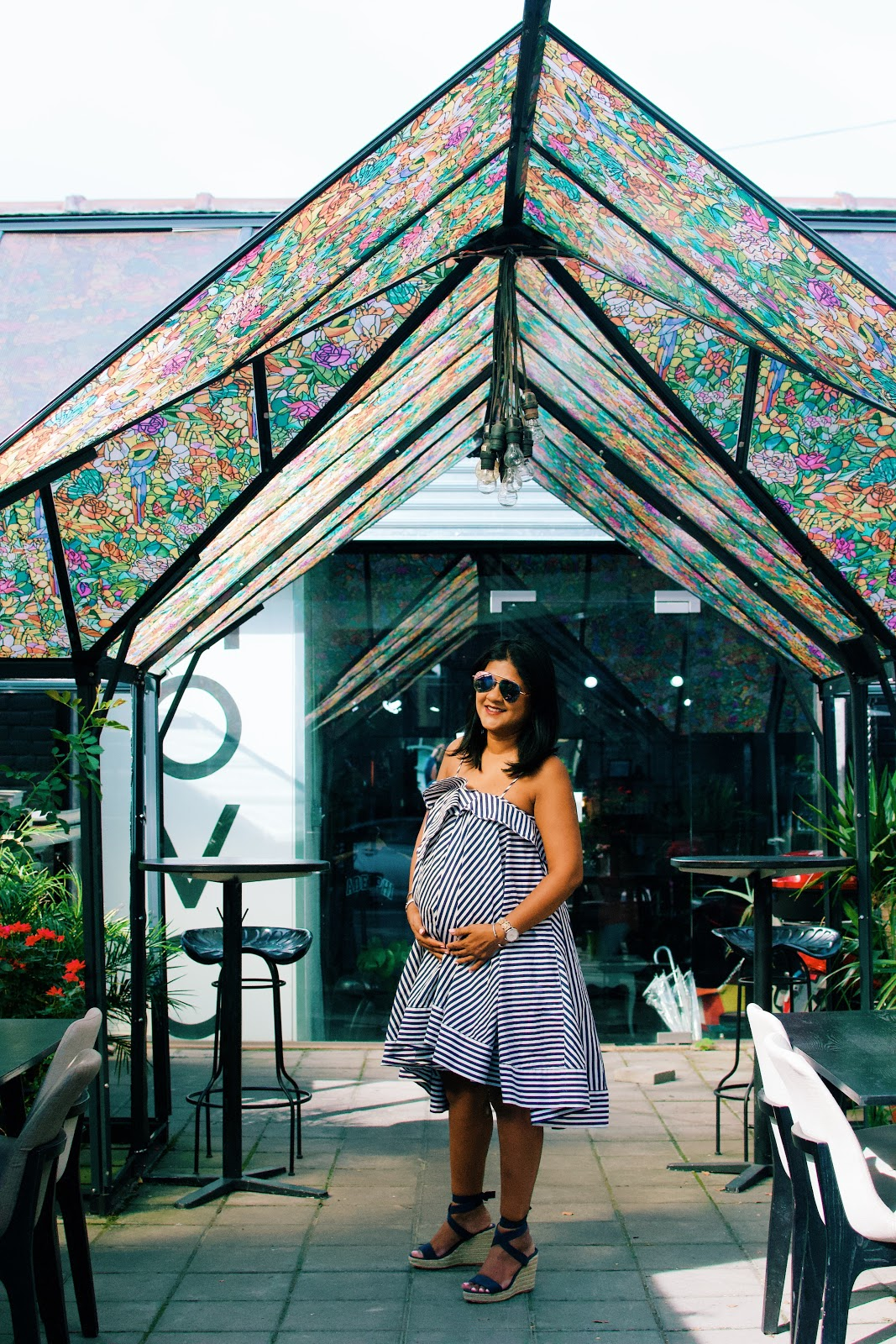 brunch in Astoria no5, maternity style, pregnancy update