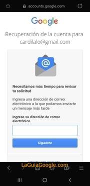 cambiar contraseña de gmail