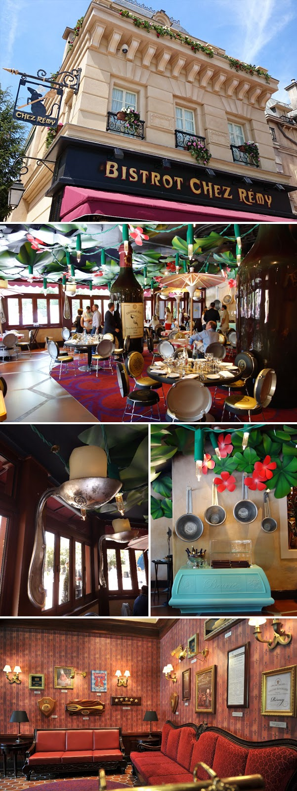 35 Of The World's Most Amazing Restaurants To Eat In Before You Die - Ratatouille Themed Restaurant, Bistrot Chez Rémy, Disneyland Paris, France
