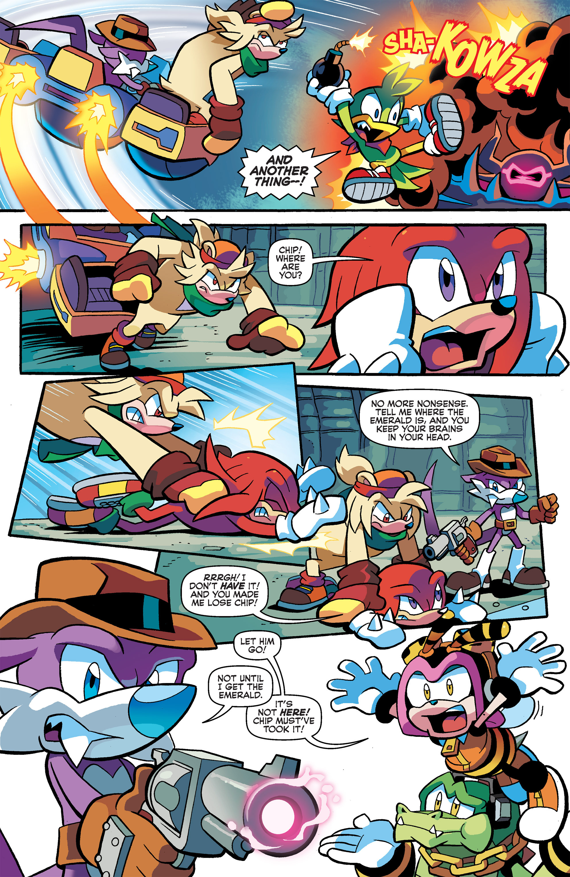 Read online Sonic Universe comic -  Issue #66 - 16