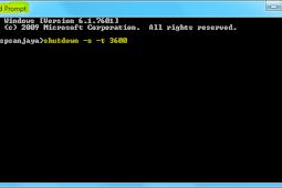 Cara Shutdown Dengan Waktu Tertentu Tanpa Software Di Windows