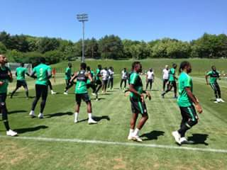 1 Day To Go : Super Eagles Resume Training In Russia Ahead Of 2018 World Cup (Photos)
