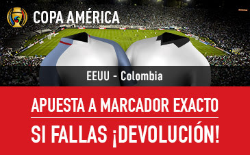 sportium bono 25 euros EEUU vs Colombia Copa America 4 junio