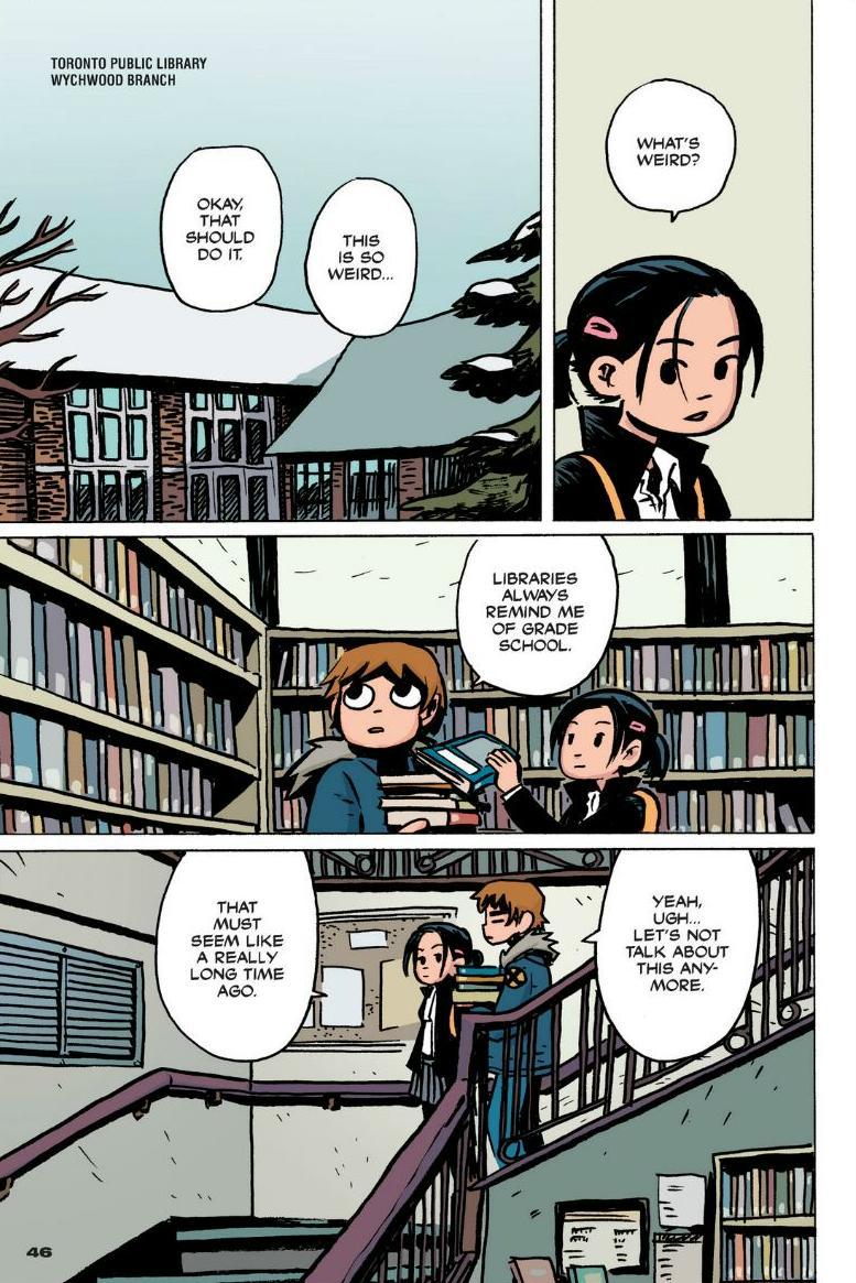 Read online Scott Pilgrim comic -  Issue #1 - 40