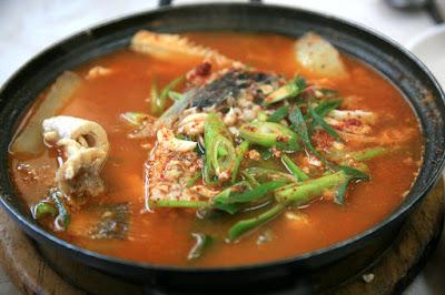 Fish Stew with Sauerkraut