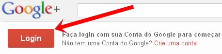 Como entra no Google+