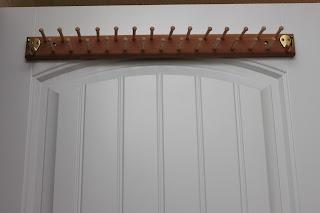 Woodified Aromatic Cedar Tie Rack