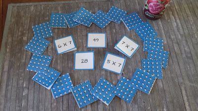 Memory tables de multiplication