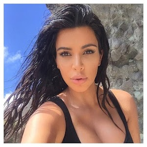 Kim Kardashian poses with decotaço and makes joy for fans
