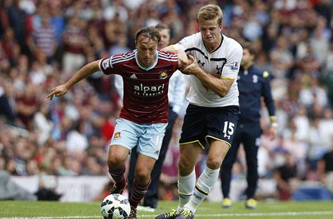 Dier có bàn thắng ngay trận ra mắt đội một Tottenham