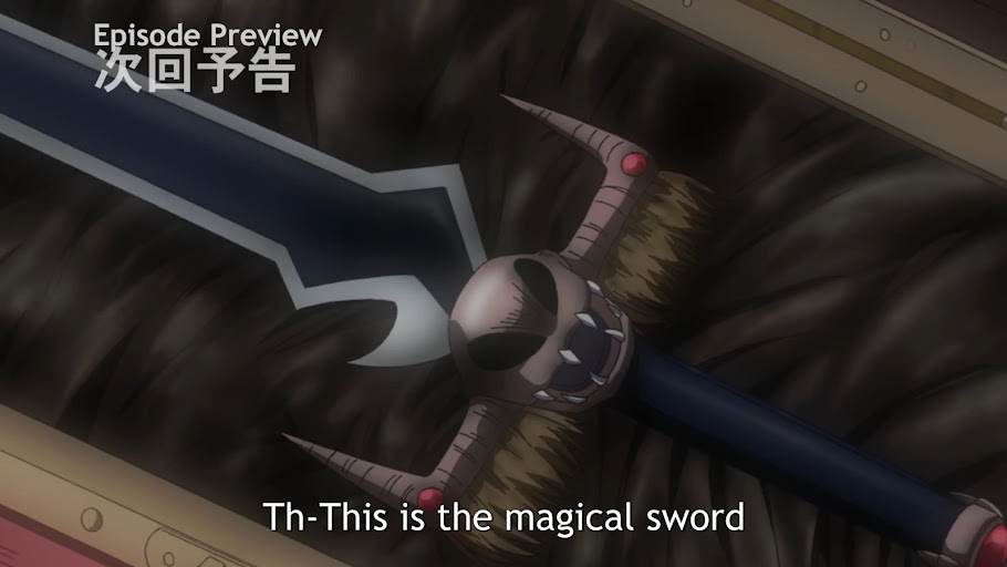 The magical zombie-slaying sword