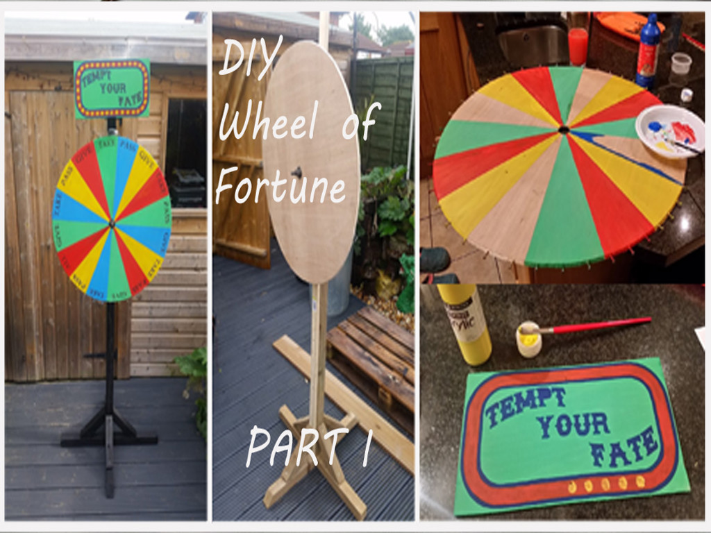 how to make an halloween wheel of fortune drinking game prop part, Powerpoint templates
