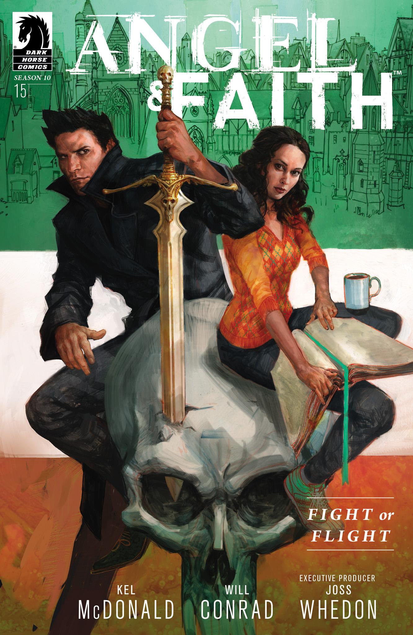 Read online Angel & Faith Season 10 comic -  Issue #15 - 1