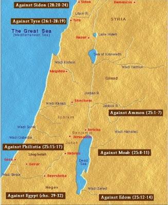 Gambar Peta Palestina