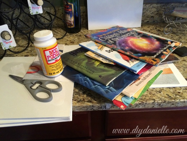 Supplies for making fabulous wall art!