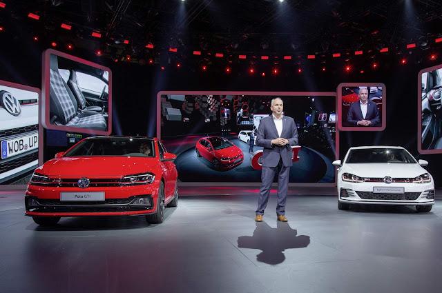 Vídeo - apresentação do Polo GTI no Frankfurt Motor Show