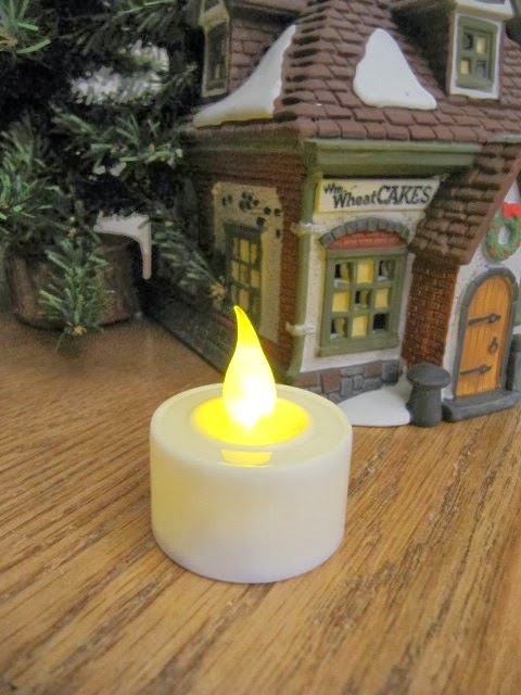 Sew Many Ways Cordless Lights For Christmas Village