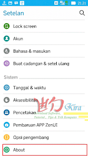 About android wd-kira