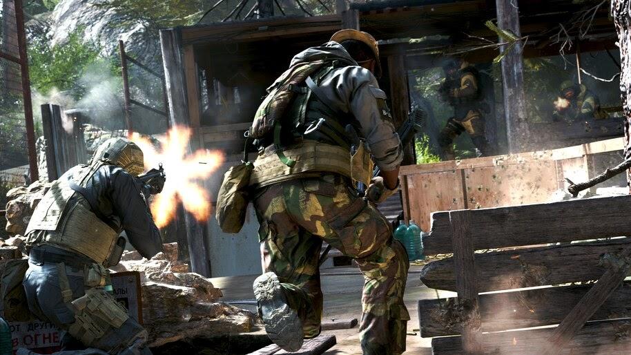 Call of Duty Modern Warfare, Soldiers, 4K, #5.999