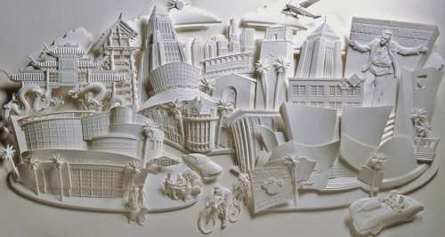 Jeff Nishinaka, paper art