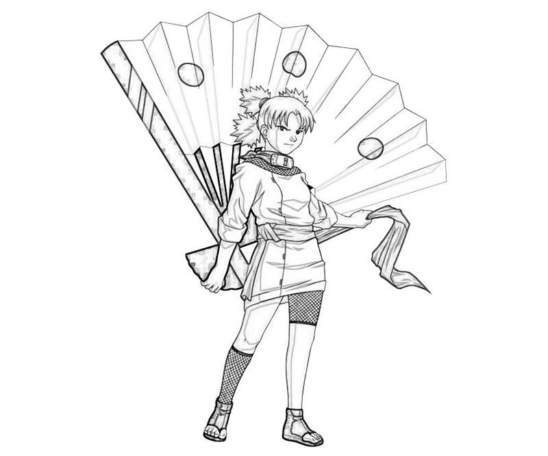 Naruto Temari Weapon | Temtodasas