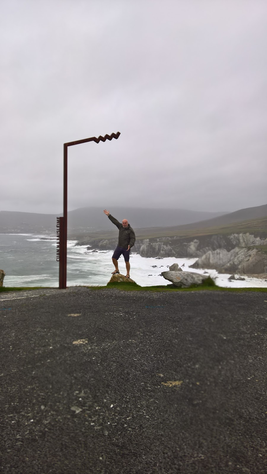 Wild Atlantic Way Discovery Point Cuan Na Haisl�ime
