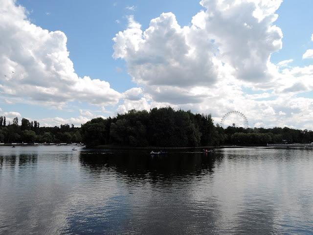 измайловский парк круглый пруд