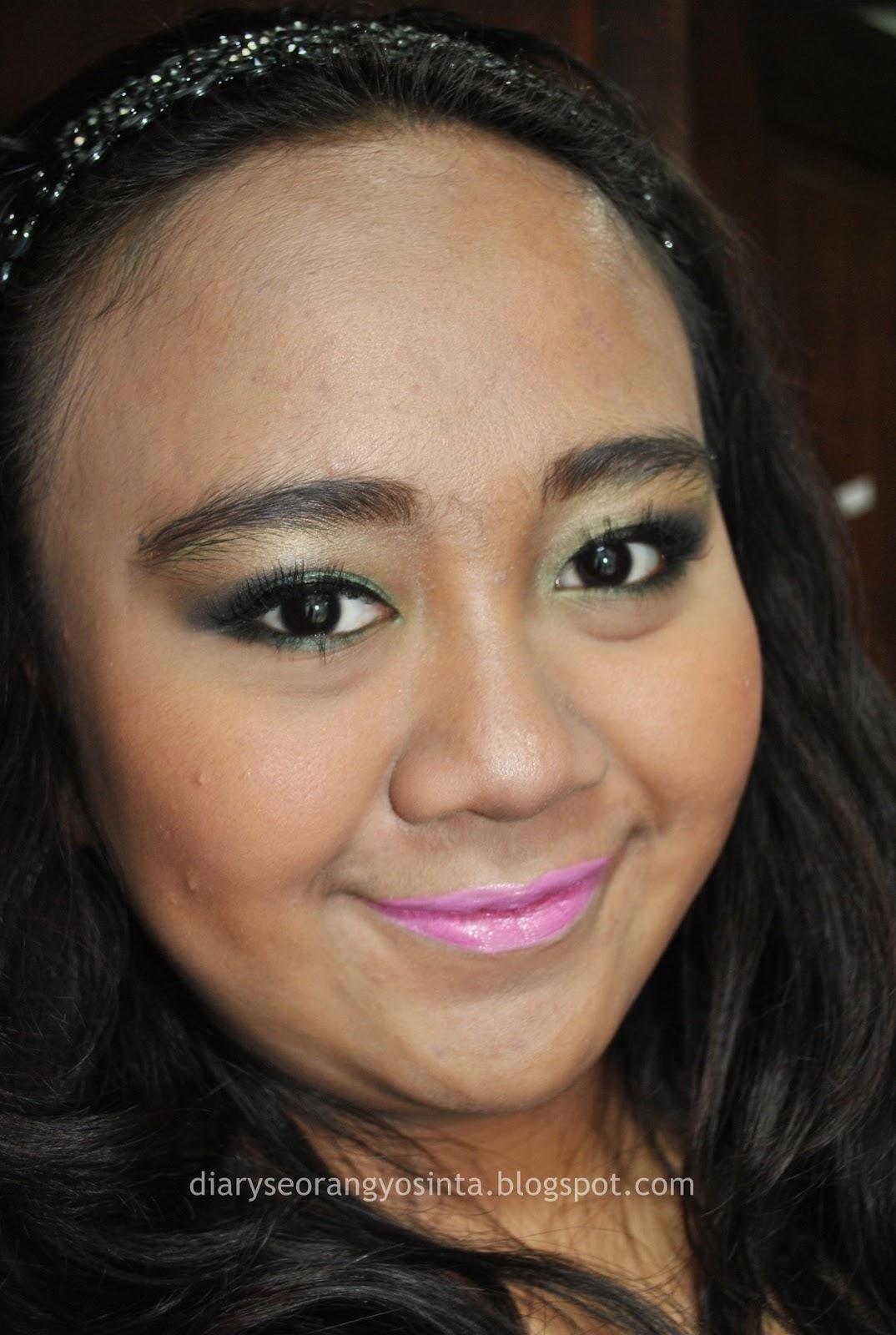 @ladypon_MUA: Greeny Eyes