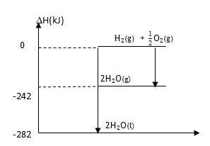 Segalanya belajar soal termokimia sistem lingkungan eksoterm dari diagram tingkat energi di atas pada penguapan 2 mol air dari tubuh diperlukan energi sebesar a 570 kj b 484 kj c 242 kj ccuart Gallery