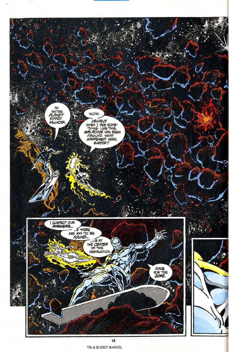 Read online Silver Surfer (1987) comic -  Issue #98 - 14