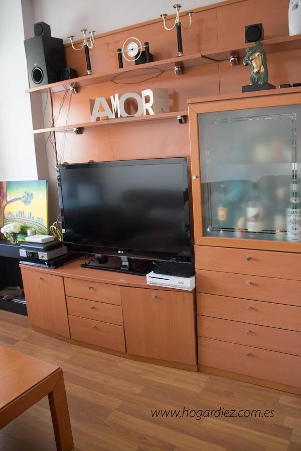 Mueble de la televisión de mi salón