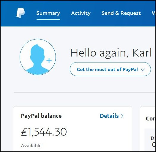 Paypal? PayEnemy, more like  [Paypal #2] ~ Karl Drinkwater