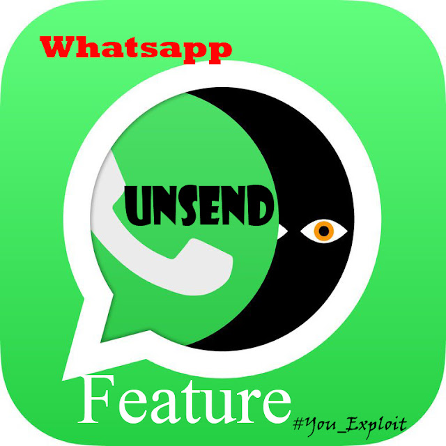 Whatsapp unsend feature