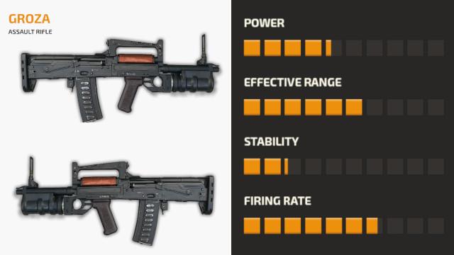 Senjata Groza PUBG