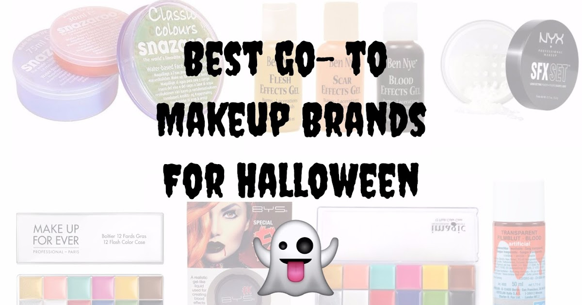 Best Makeup Brands Your Halloween Looks Spend